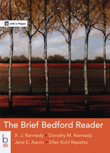 The Brief Bedford Reader:   2014 9781457636967 Front Cover