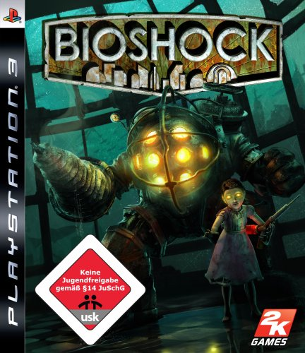 BIOSHOCK PlayStation 3 artwork