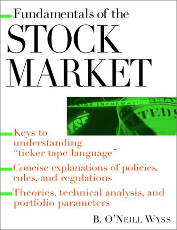 Fundamentals of the Stock Market   2001 9780071360968 Front Cover