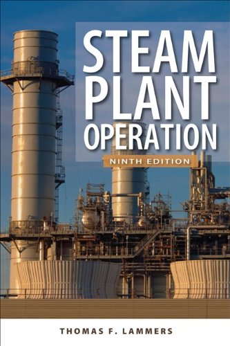 Steam Plant Operation  9th 2012 edition cover
