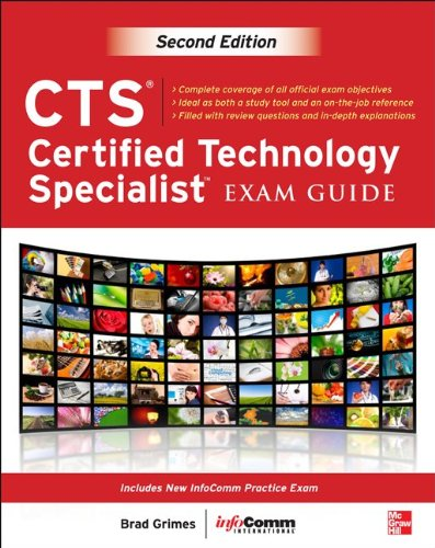 CTS Certified Technology Specialist  2nd 2013 edition cover