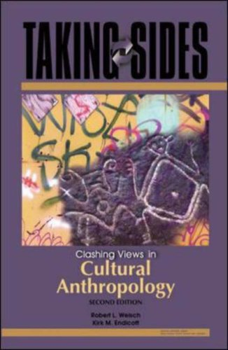 Taking Sides Clashing Views in Cultural Anthropology 2nd 2006 (Revised) edition cover