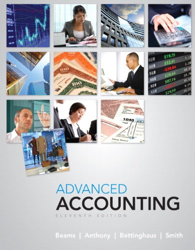 Advanced Accounting  11th 2012 (Revised) edition cover