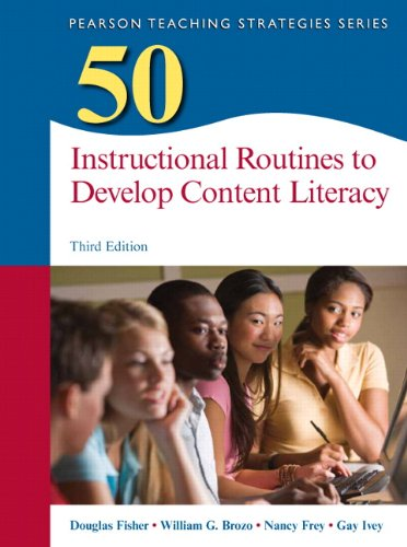 50 Instructional Routines to Develop Content Literacy  3rd 2015 edition cover