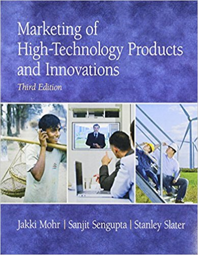 Marketing of High-Technology Products and Innovations  3rd 2010 edition cover