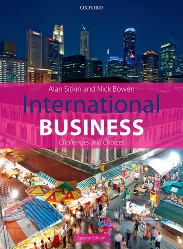 International Business Challenges and Choices 2nd 2013 9780199646968 Front Cover