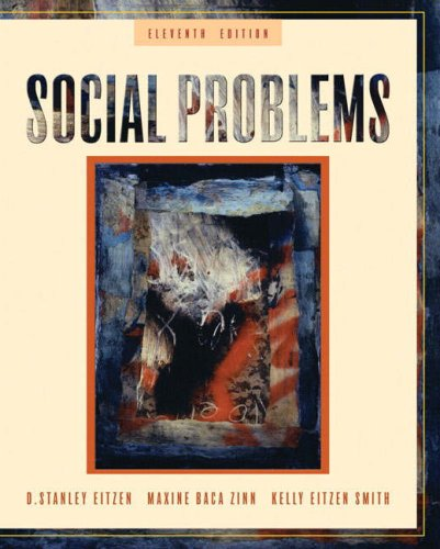 Social Problems  11th 2009 edition cover