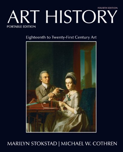 Art History Portables Book 6 18th -21st Century 4th 2011 edition cover