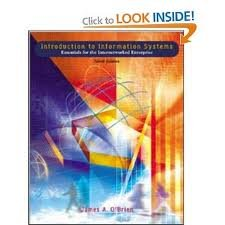 Introduction to Information Systems An Internetworked Enterprise Perspective 2nd 1998 (Alternate) 9780256251968 Front Cover