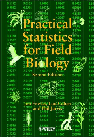 Practical Statistics for Field Biology  2nd 1998 (Revised) edition cover