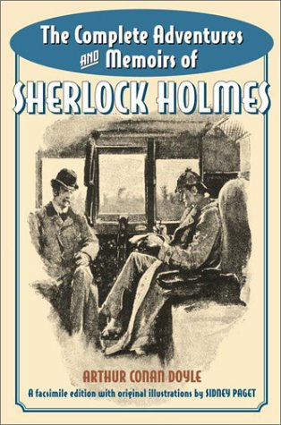 Complete Adventures and Memoirs of Sherlock Holmes  N/A edition cover