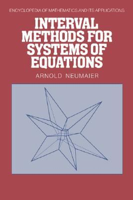 Interval Methods for Systems of Equations   1990 9780521331968 Front Cover