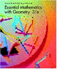Essential Mathematics with Geometry  3rd 1997 9780534339968 Front Cover