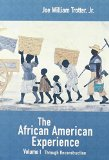 Through Reconstruction The African American Experience  2001 edition cover