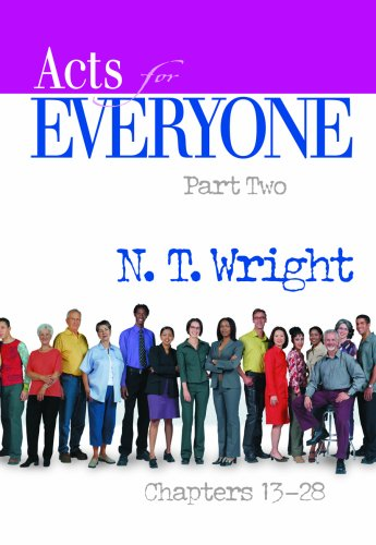 Acts for Everyone, Chapters 13-28   2008 edition cover