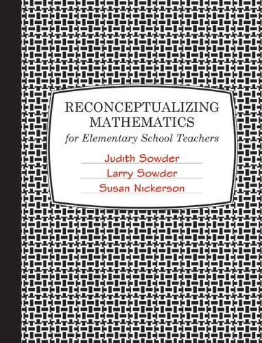 Reconceptualizing Mathematics   2010 edition cover