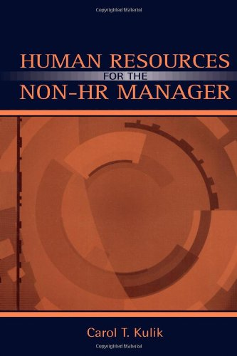 Human Resources for the Non-HR Manager   2004 edition cover