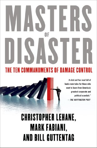 Masters of Disaster The Ten Commandments of Damage Control  2014 edition cover