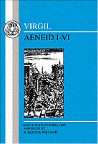 Virgil Aeneid I-VI  1996 (Revised) edition cover