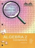 ALGEBRA 2 CONNECTIONS,VOL 1 N/A edition cover