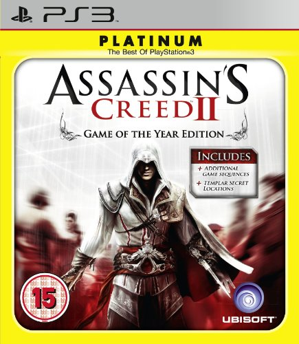 Assassins Creed 2: Game of The Year - Platinum Edition (PS3) PlayStation 3 artwork
