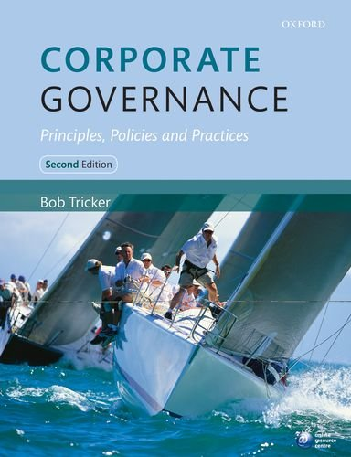 Corporate Governance Principles, Policies and Practices 2nd 2012 edition cover