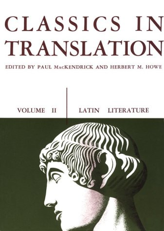 Classics in Translation  N/A 9780299808969 Front Cover