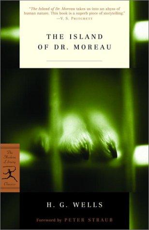 Island of Dr. Moreau   2002 edition cover