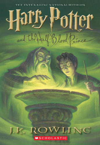 Harry Potter and the Half-Blood Prince   2005 (Reprint) 9780439785969 Front Cover