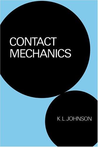 Contact Mechanics   2004 edition cover