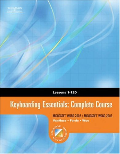 Keyboarding Essentials Complete Course   2005 9780538727969 Front Cover