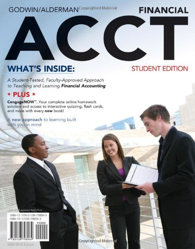Financial ACCT 2010   2011 9780538798969 Front Cover