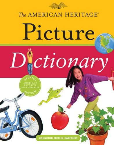 American Heritage Picture Dictionary  N/A 9780547215969 Front Cover