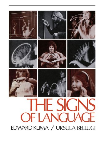 Signs of Language   1979 (Reprint) edition cover