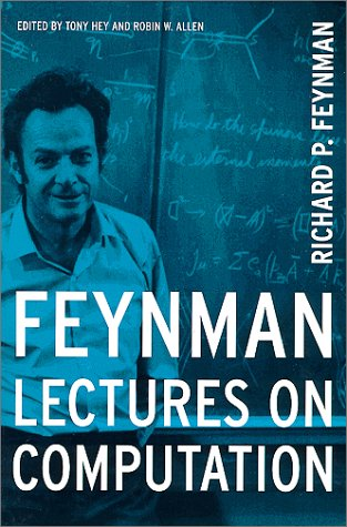 Feynman Lectures on Computation   2000 edition cover
