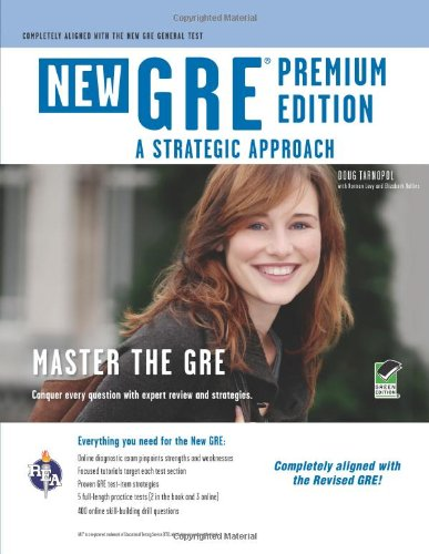 GRE A Strategic Approach 6th (Revised) edition cover