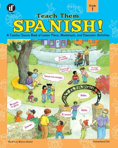 Teach Them Spanish!   2001 edition cover