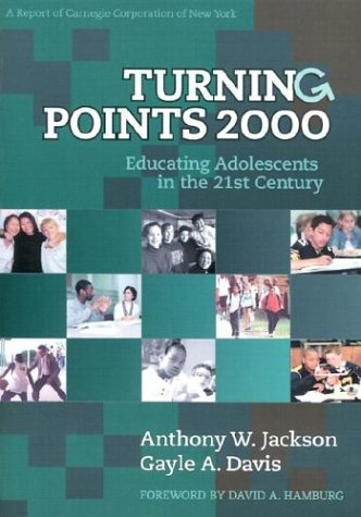 Turning Points 2000 Educating Adolescents in the 21st Century  2000 edition cover
