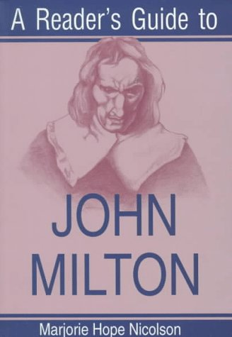 Reader's Guide to John Milton  N/A edition cover