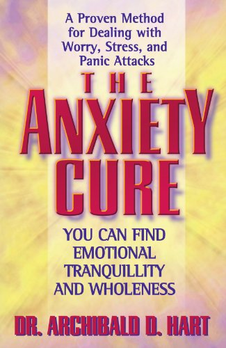 Anxiety Cure   2001 (Reprint) edition cover
