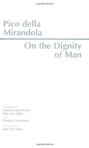 On the Dignity of Man  Reprint  edition cover