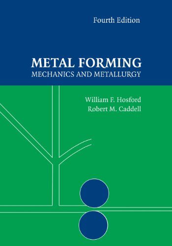 Metal Forming Mechanics and Metallurgy 4th 2014 (Revised) edition cover