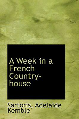 Week in a French Country-House N/A 9781113495969 Front Cover