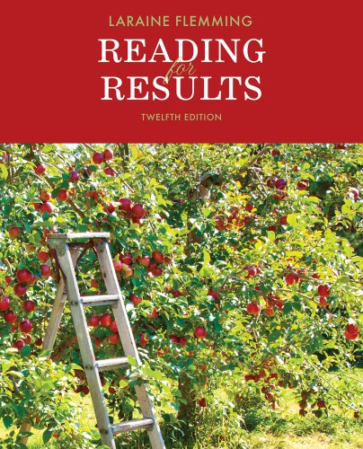 Reading for Results  12th 2014 edition cover