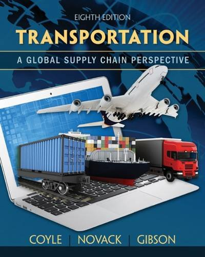 Transportation A Global Supply Chain Perspective 8th 2016 edition cover