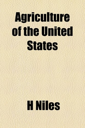 Agriculture of the United States  2010 edition cover