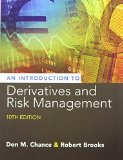 Introduction to Derivatives and Risk Management: With Stock-trak Coupon  2015 edition cover
