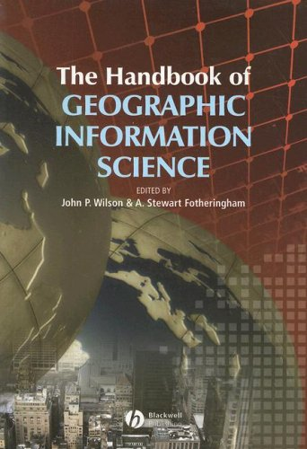 Handbook of Geographic Information Science   2008 edition cover