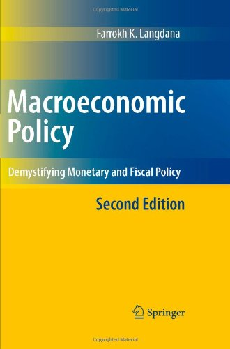 Macroeconomic Policy Demystifying Monetary and Fiscal Policy 2nd 2009 edition cover
