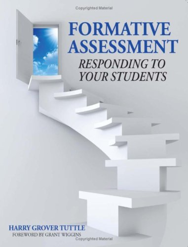 Formative Assessment in Your Classroom Responding to Your Students  2009 edition cover
